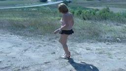 Nud in public